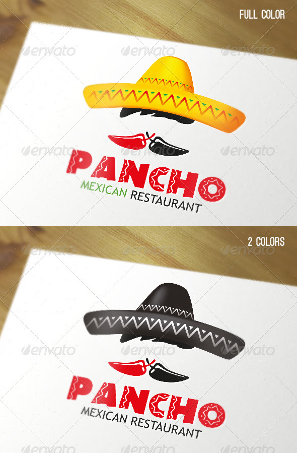 Mexican Restaurant Logo - Food Logo Templates