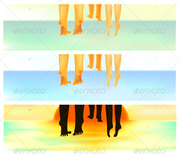 Family Summer Vacation - Travel Conceptual