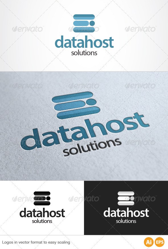 Data Host Logo - Symbols Logo Templates
