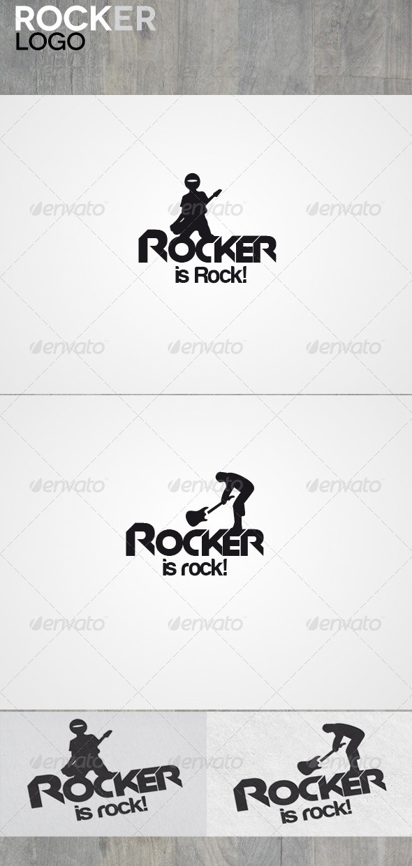 Rocker - Vector Abstract