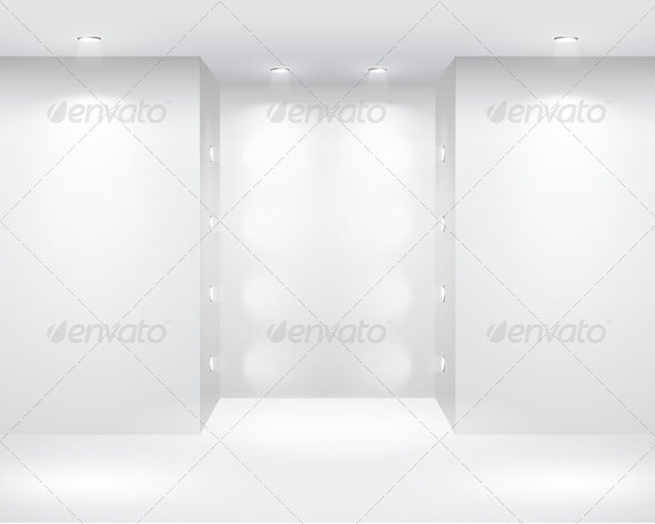 Clean Background With Light 2 - Tech / Futuristic Backgrounds