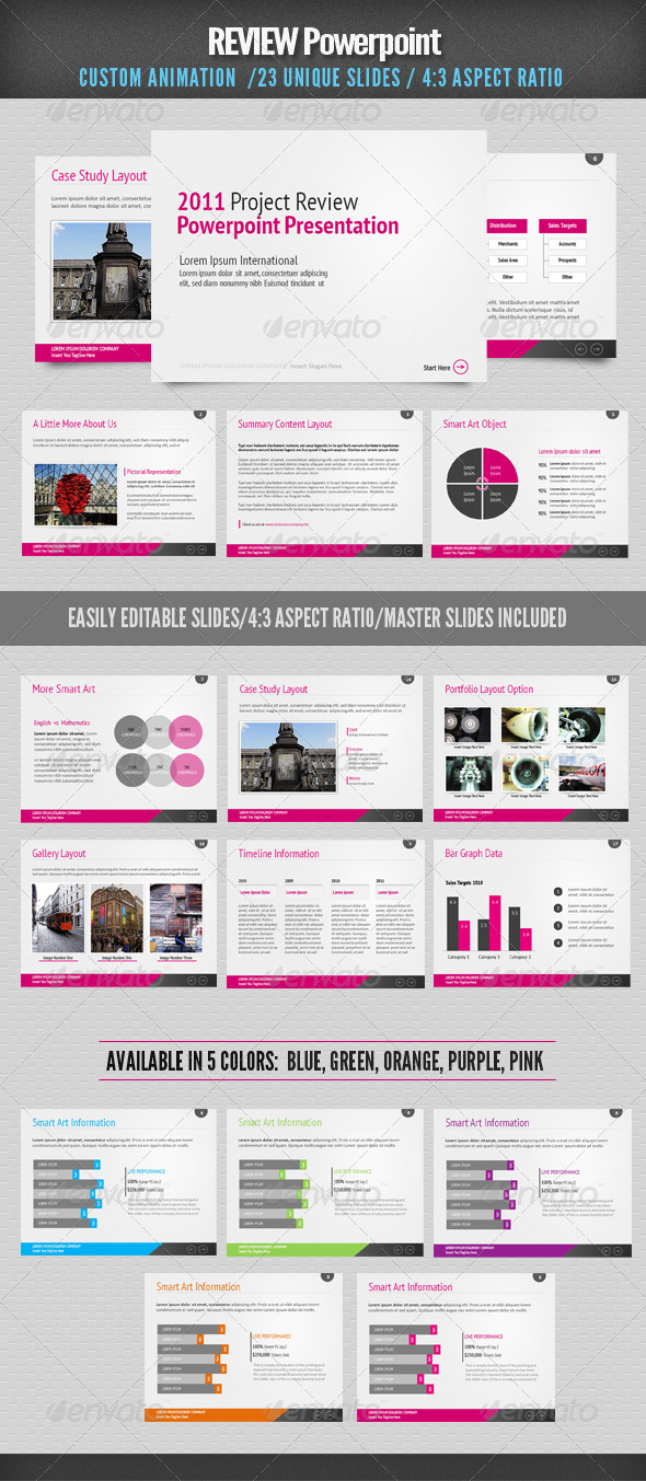 Graphic River Review Powerpoint Presentation Templates -  Powerpoint Templates  Business 1046242