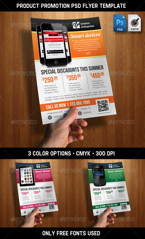 GraphicRiver Product Promotion Ad Flyer PSD Template 2492224