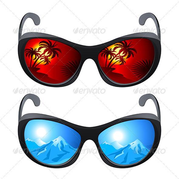 Realistic Sunglasses
