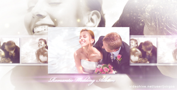 After Effects Project - VideoHive Romantic Wedding Elegant Album 2492798