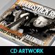 Woodstock Rock Compilation CD Artwork PSD