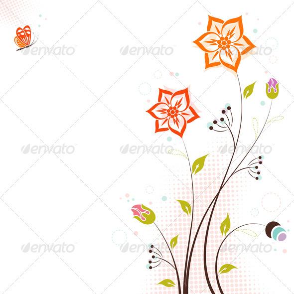 Floral Theme - Flowers & Plants Nature