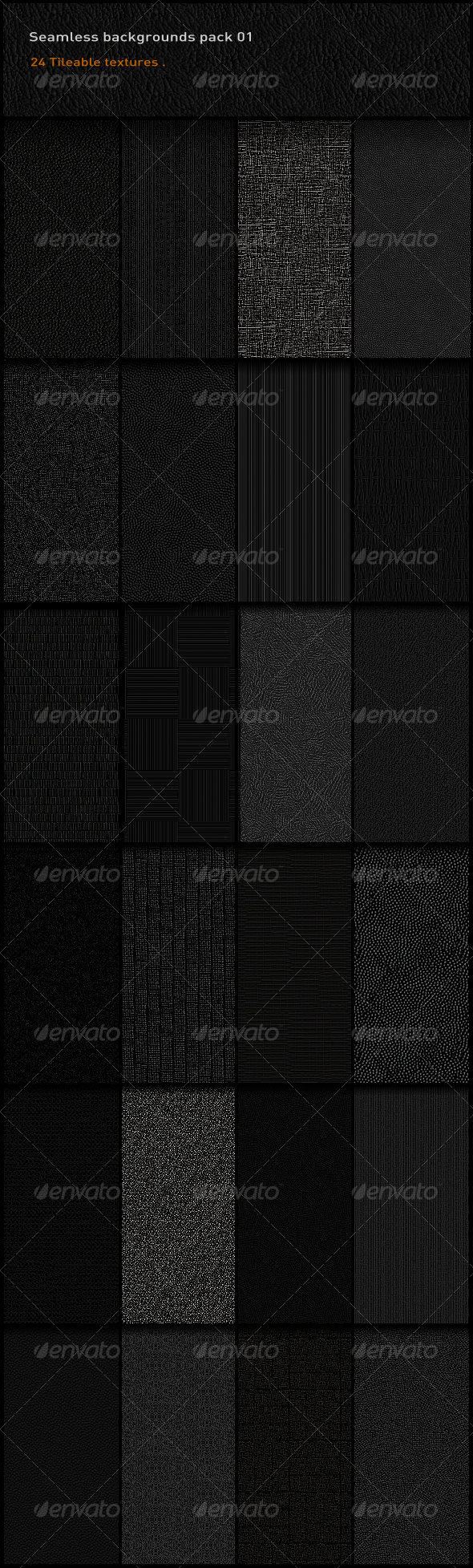 GraphicRiver Seamless Backgrounds Pack 01 2496196