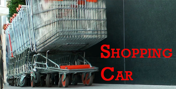 VideoHive Shopping Car 2496330