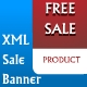 XML sale banner  - ActiveDen Item for Sale