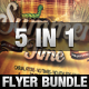 Summertime Flyer Bundle - 5in1 - GraphicRiver Item for Sale