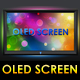 OLED Flat Screen - GraphicRiver Item for Sale