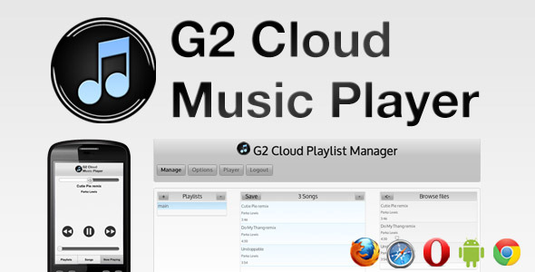 Cloud Music Player Cloud Ptayust manager