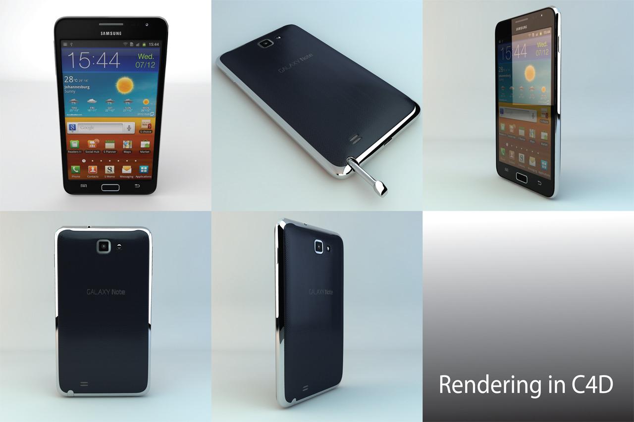 3DOcean Samsung Galaxy Note 2499156