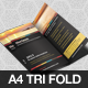Horizon Tri Fold Brochure Template - GraphicRiver Item for Sale
