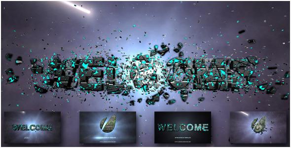 Shatter Logo Reveal