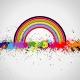 Color paint splashes background - GraphicRiver Item for Sale