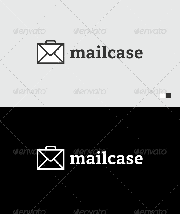 Mail Case - Logo Template - Objects Logo Templates