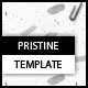 Pristine Portfolio Template - ActiveDen Item for Sale