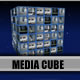 3D Media Wall Cube Dynamic Presentation - VideoHive Item for Sale