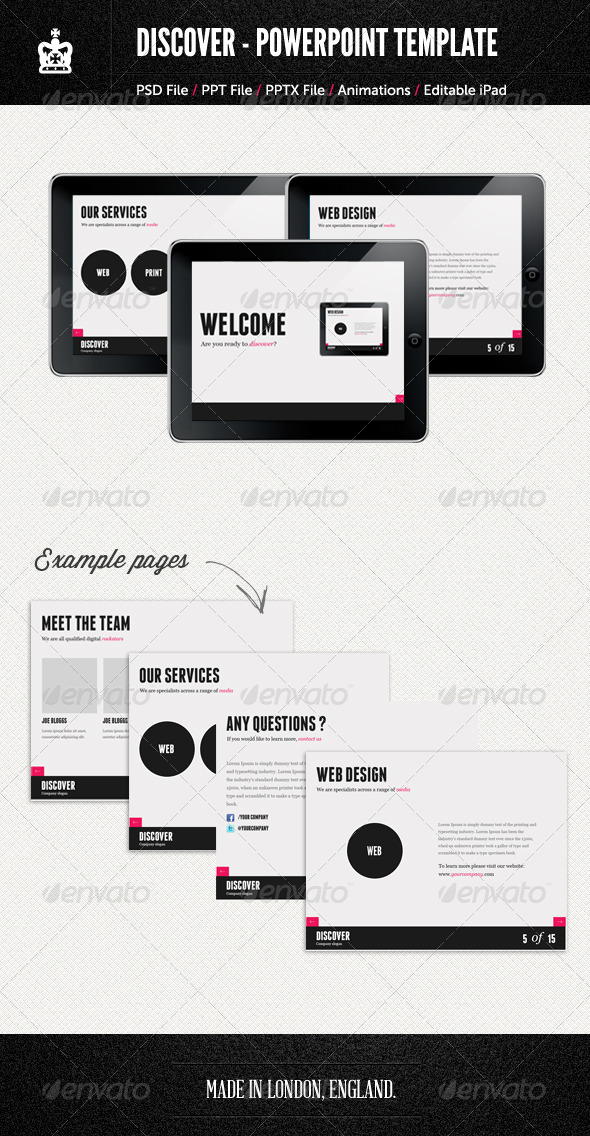 GraphicRiver Agency Style PowerPoint Template 2428975
