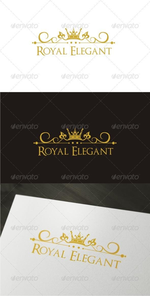 Royal Elegant Logo - Objects Logo Templates
