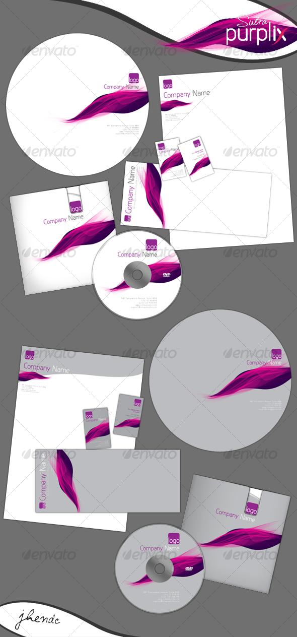 GraphicRiver Purplix-sutra Corporate Identity 86081