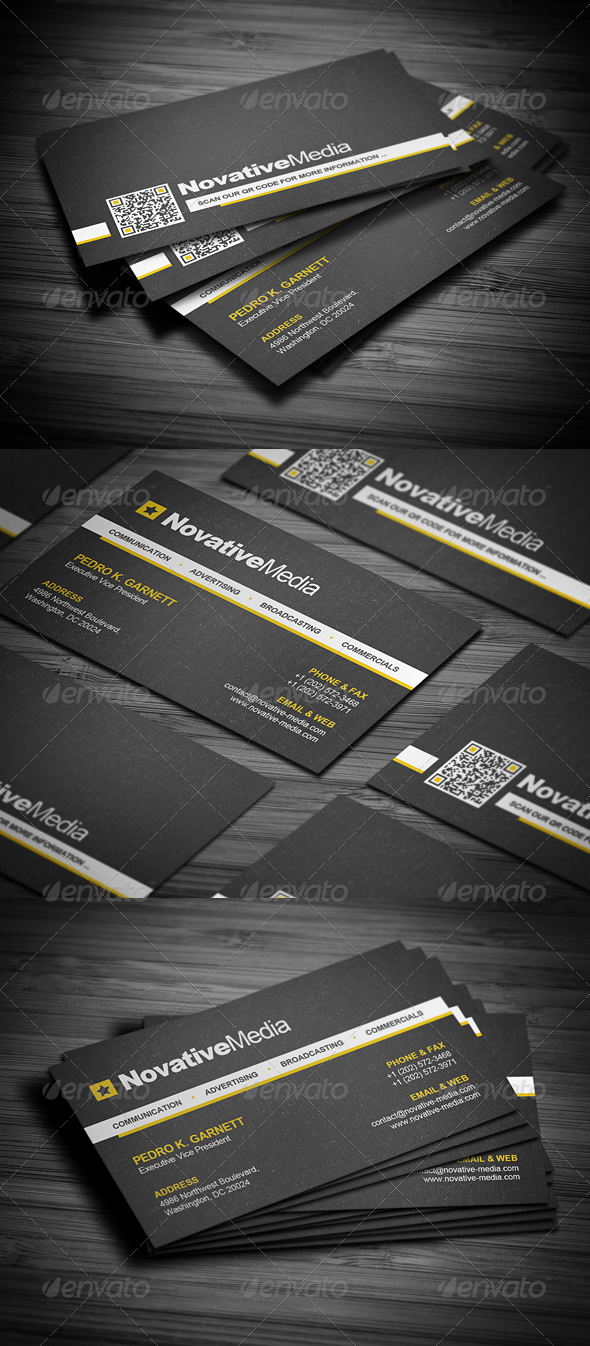 GraphicRiver Modern Corporate Business Card 2504977