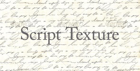 GraphicRiver Script Texture 91572