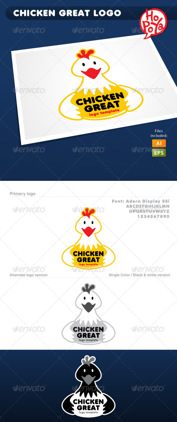 Chiki Foods Logo - Animals Logo Templates