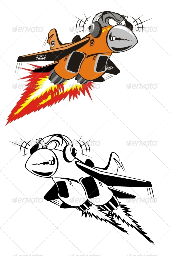 GraphicRiver Cartoon Fighter 2506150