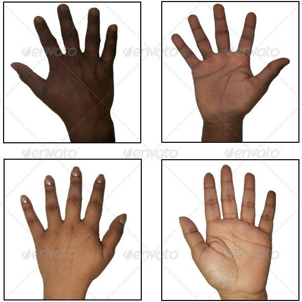3DOcean 46 Human Hand Texture Pack 280970