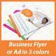Mobile Net Minimal Business Flyer / Ad  - GraphicRiver Item for Sale