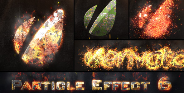After Effects Project - VideoHive Particle Effect 6 FIRE 2506931
