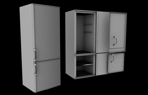 3DOcean Freezer 91659