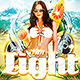 Sunlight Beach Party - GraphicRiver Item for Sale