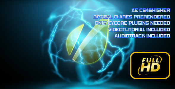 After Effects Project - VideoHive Energy Orb Logo Reveal 2485836