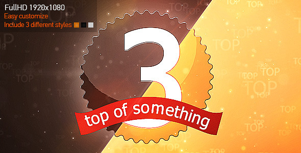 After Effects Project - VideoHive Top Something 2492020