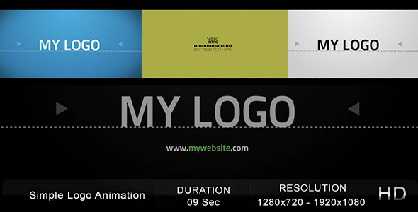 VideoHive Simple Logo Animation 2510510
