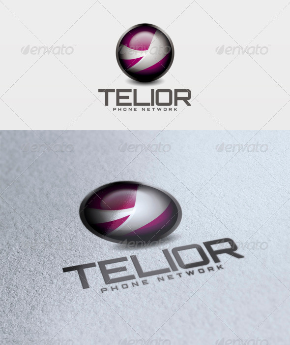 Telior Logo - 3d Abstract