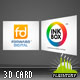 3D Business Card Slide Show AS3 - ActiveDen Item for Sale