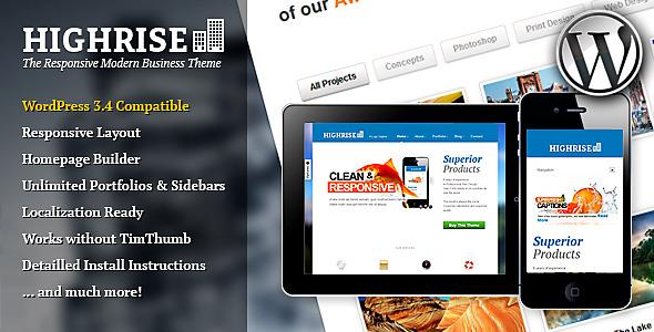 Highrise Responsive Business WordPress Theme