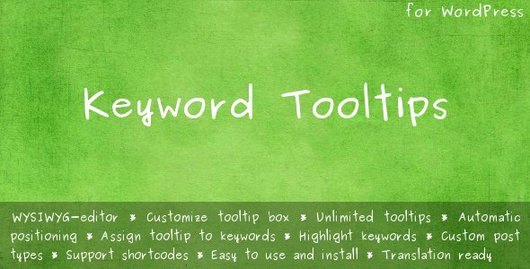 CodeCanyon Keyword Tooltips 2220105