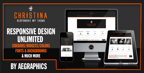 Christina - Responsive WordPress Theme