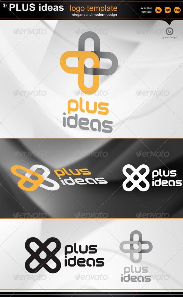 Plus Ideas logo