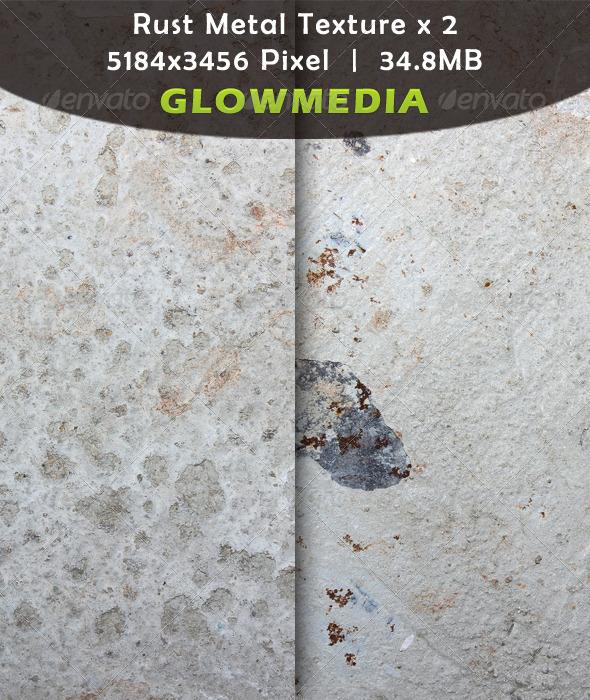 Rust Metal Texture x 2 - Industrial / Grunge Textures