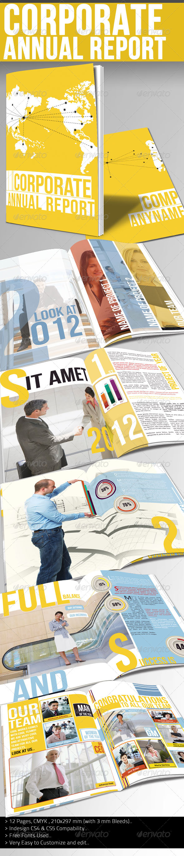 Corporate Annual Report I - Corporate Brochures