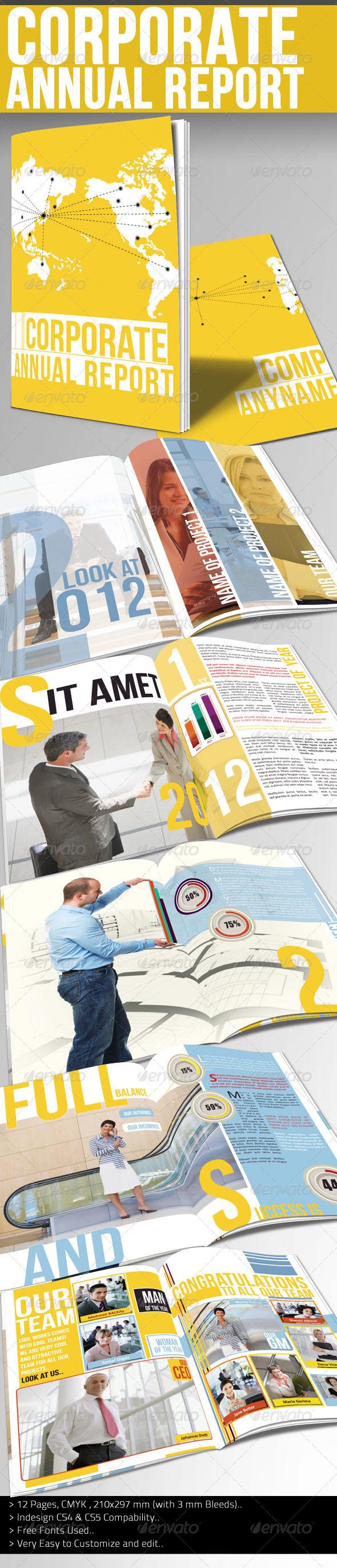 GraphicRiver Corporate Annual Report I 2514460