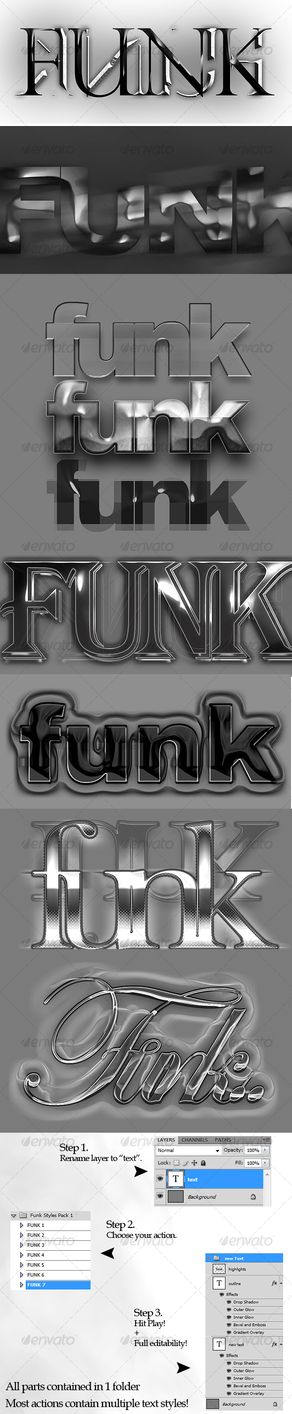 GraphicRiver Funk Text Style Actions 91810