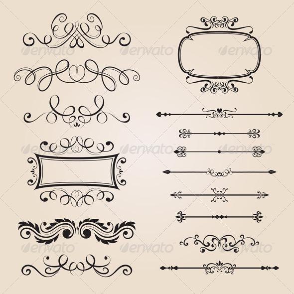GraphicRiver Classic Border Ornament 2514841